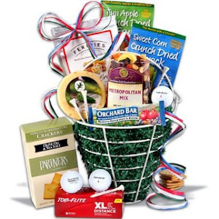 Father's Day Gift Basket For The Golfer Dad