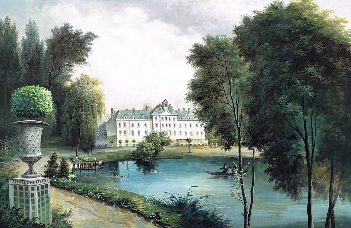 Ananb la maison du lac papier peint paysage for La maison du lac streaming