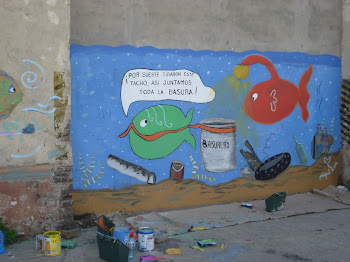 Mural en Villa del Riachuelo&#39; 2011