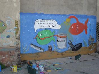 Mural en Villa del Riachuelo' 2011