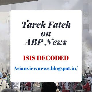 Tarek Fateh Decodes ISIS on ABP News