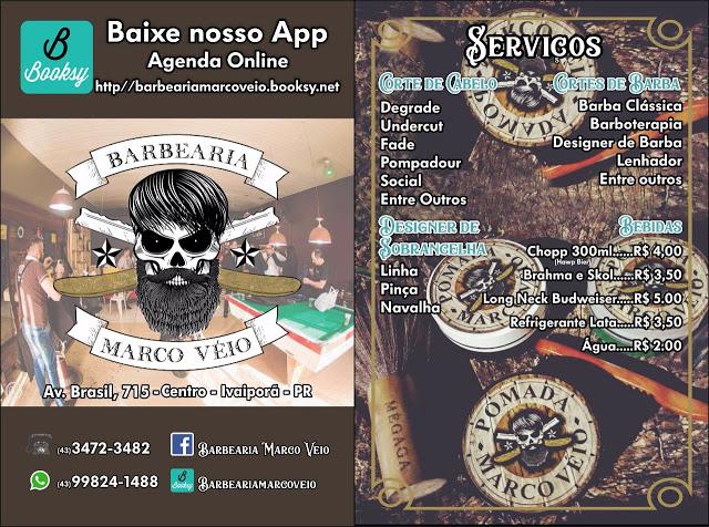 IVAIPORÃ - BARBEARIA MARCO VEIO