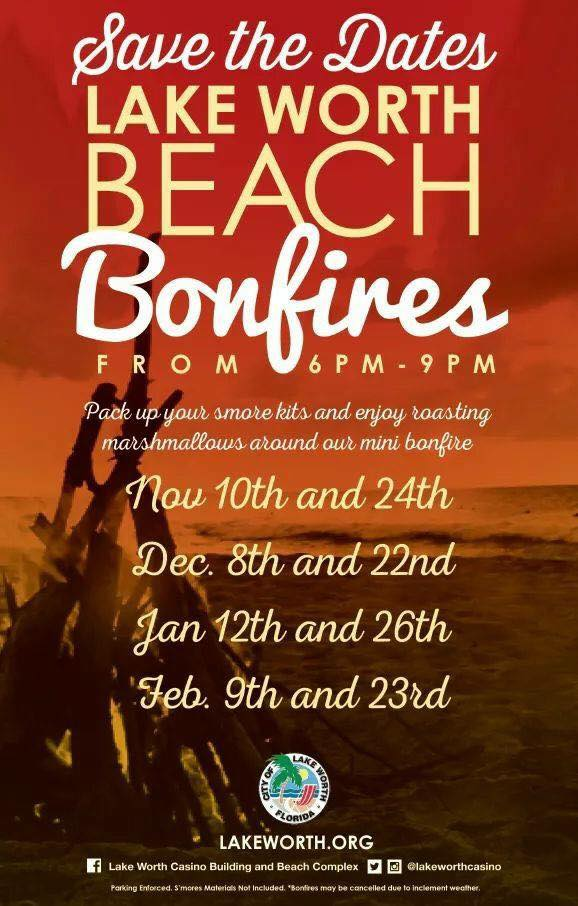 "Evening on the Avenue tonight & big news by Eddie Ritz, click ""Beach Bonfires"" for details:"