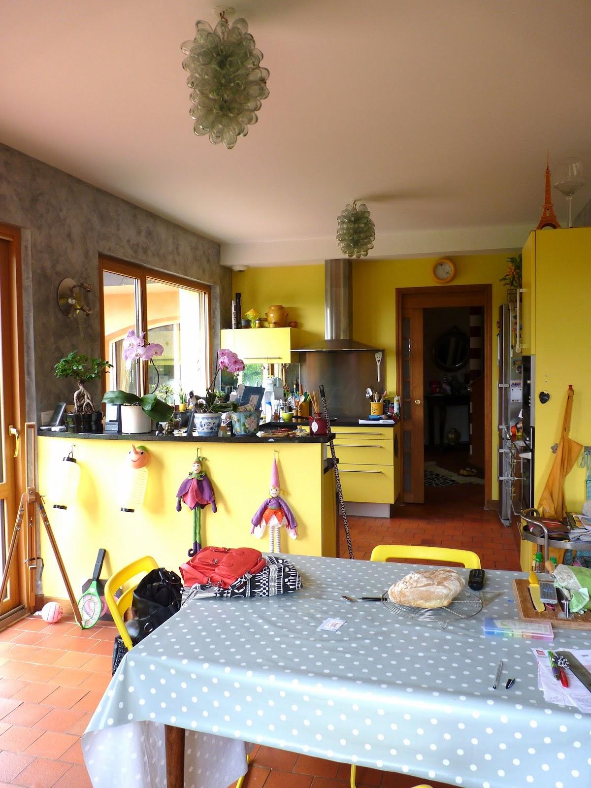 Zoline art: cuisine , dégagement, cage d'escalier… suite et fin du ...