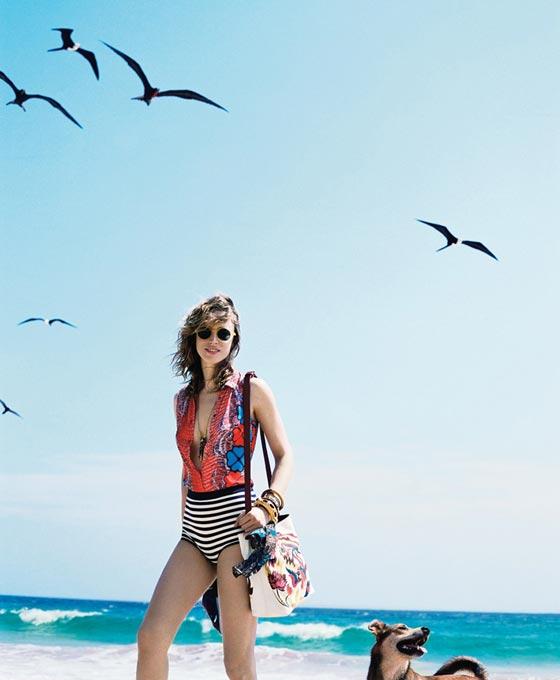 Raquel Zimmermann para TMagazine