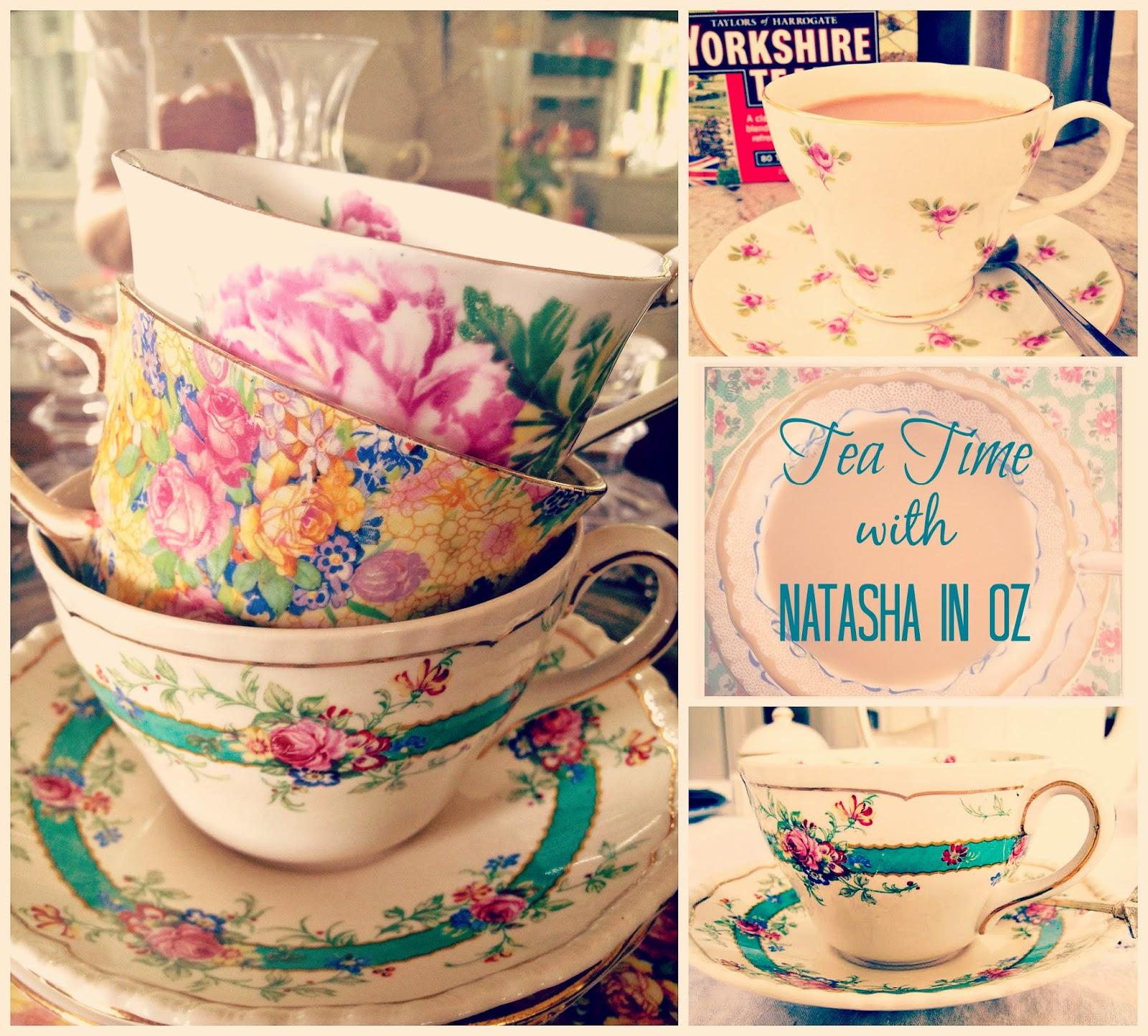 Tea, Tea cup candles, Tea Time Tuesday, Tea Time with Natasha in Oz, Vintage tea cups, Tea,