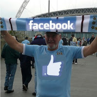 A Real Facebook Fan...at Wembley.