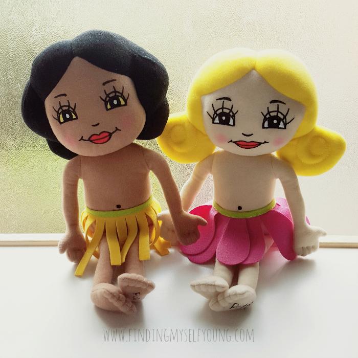 Pollen & Petal plush dolls