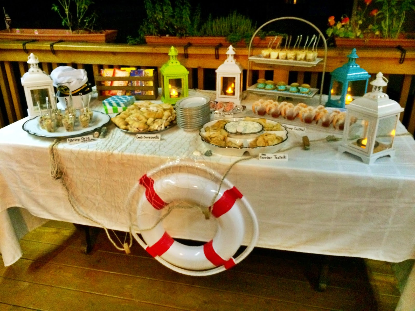 Outdoor Movie Party: Under the Sea Snacks!