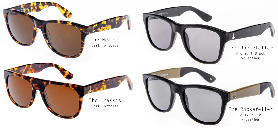 eyewear collection from The Royal Aquamarine on epique