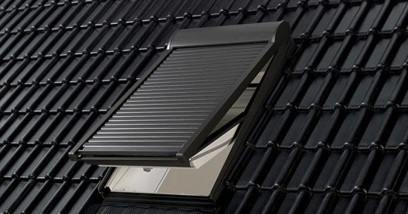 Marzua persiana basic de velux for Persianas exteriores velux