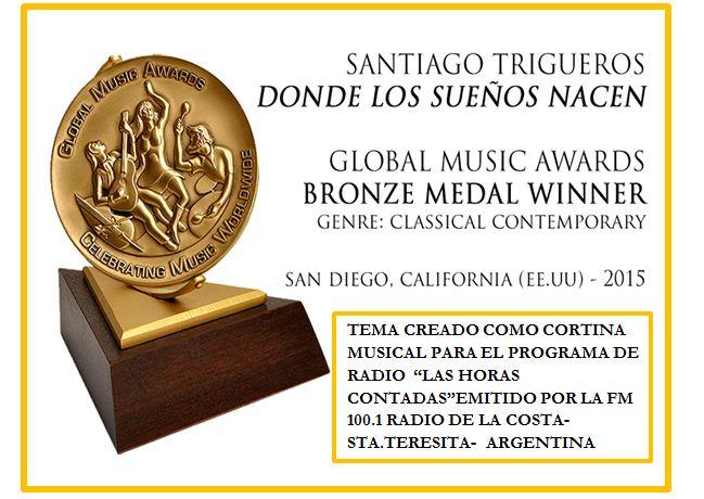 PREMIO INTERNACIONAL A LA CORTINA MUSICAL DEL PROGRAMA