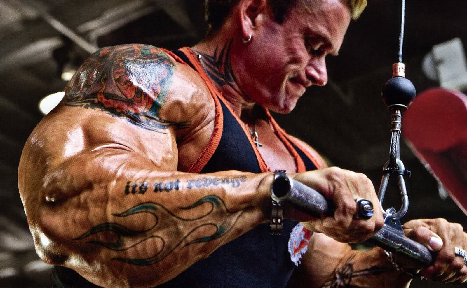 Bodybuilding and Tattoos