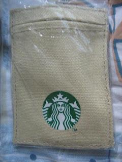 Starbucks Coffee Malaysia Asia Beige card caddy