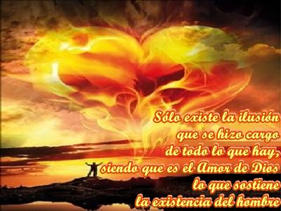 En la realidad del Cielo sólo hay Infinito, no hay secuencias, sólo hay Energía y es la del Amor de Dios.