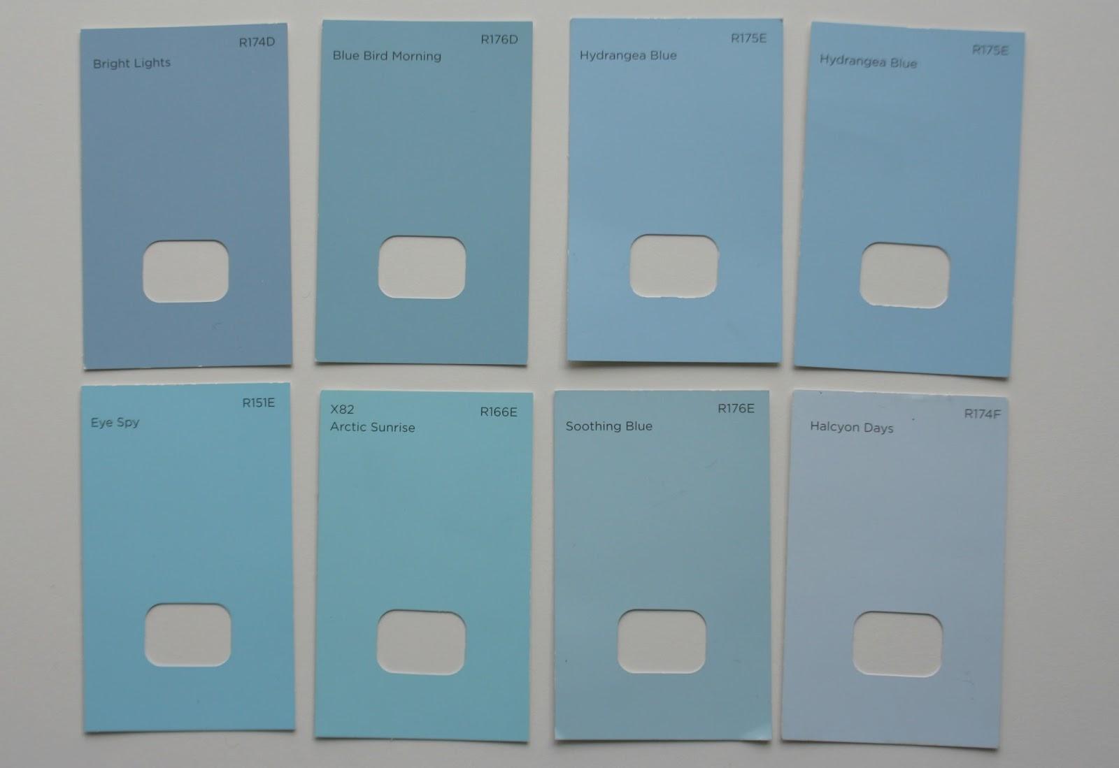 28 Warm Blue Paint Colour Dulux
