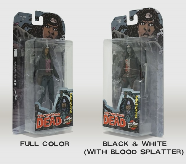 "San Diego Comic-Con 2015 Exclusive The Walking Dead ""All Out War"" Michonne Action Figure by McFarlane Toys x Skybound"