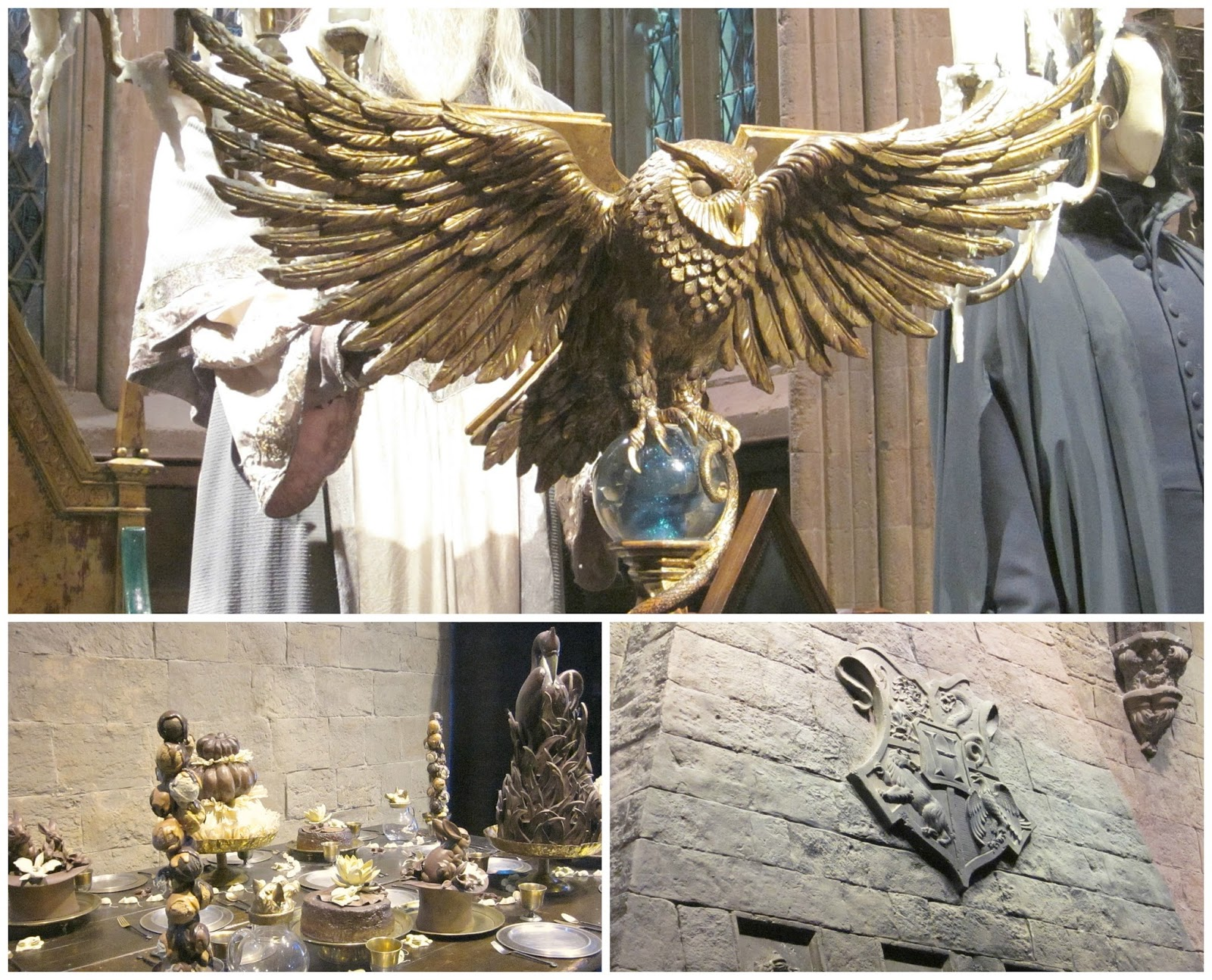 The Great Hall at The Making Of Harry Potter Warner Brothers Studio Tour including Dumbledore's Lectern