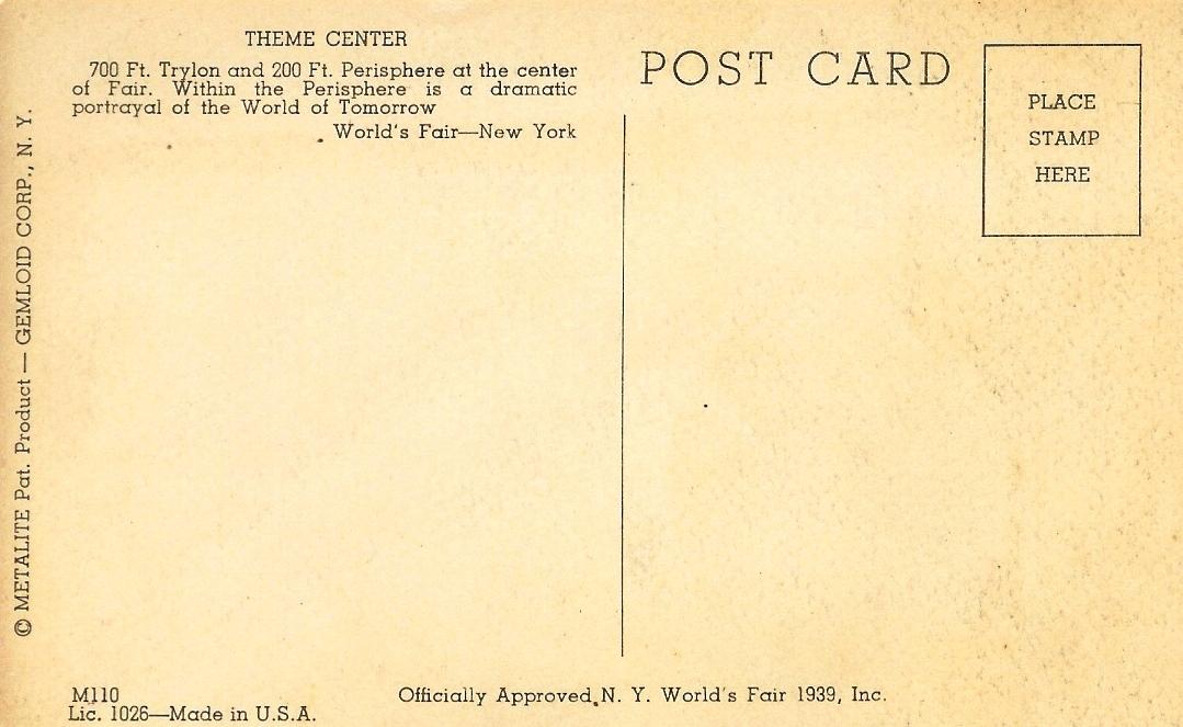 Vintage Postcard Template Word Old postcard wednesday--1939