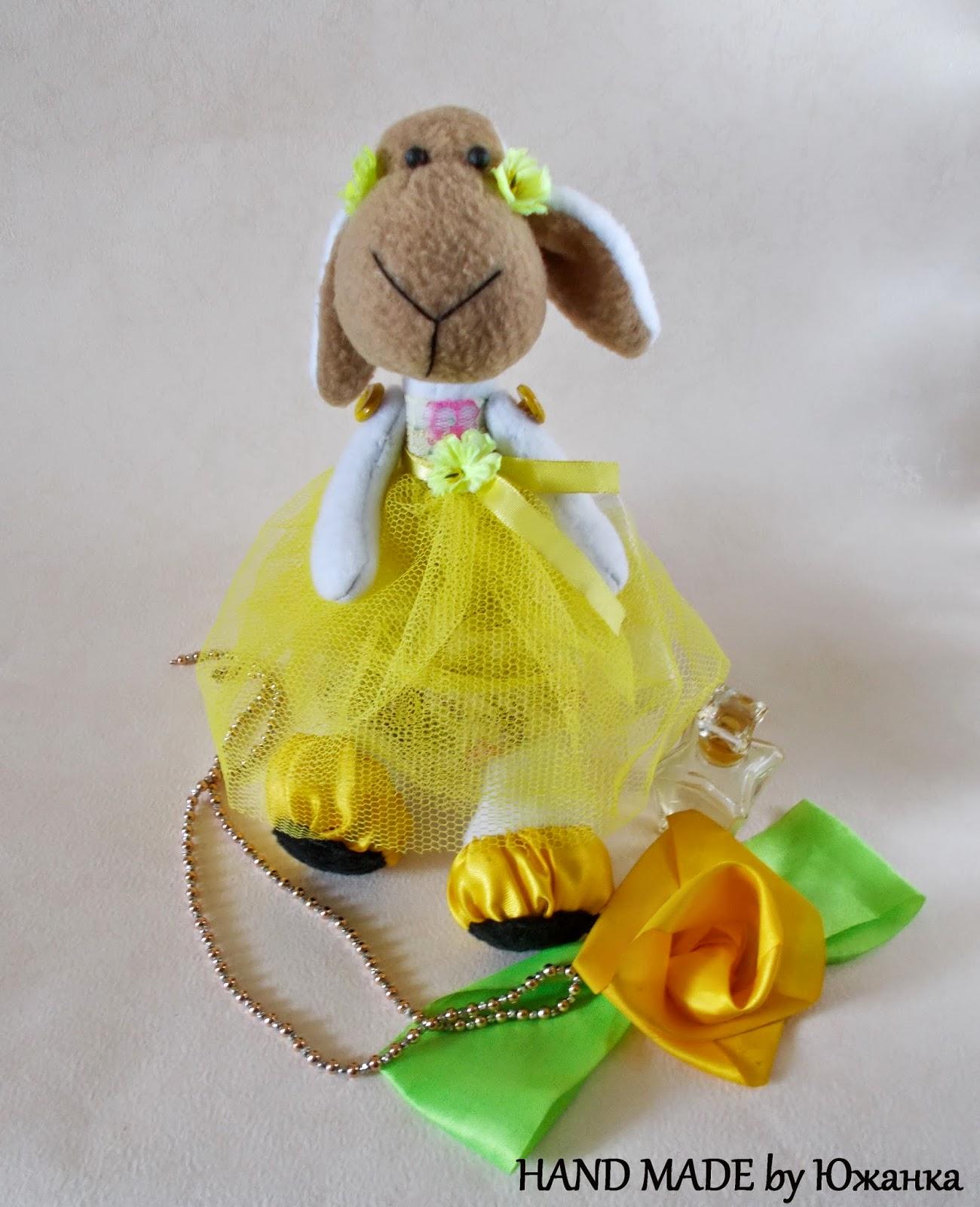 мягкая игрушка овца Принцесс