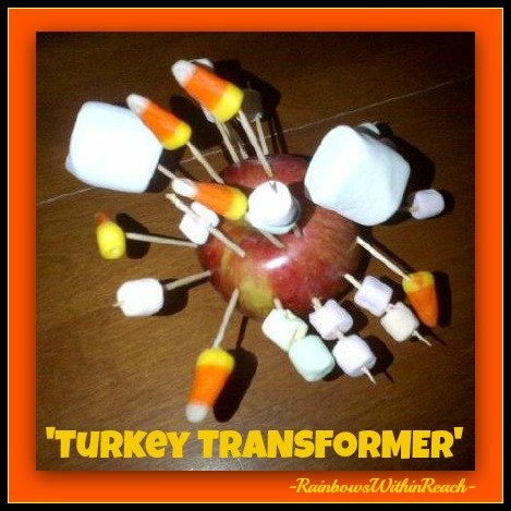 "photo of: Preschool ""Turkey"" Sculpture (boy version) via RainbowsWithinReach"