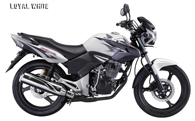 Gambar Honda Tiger Revo Putih Terbaru