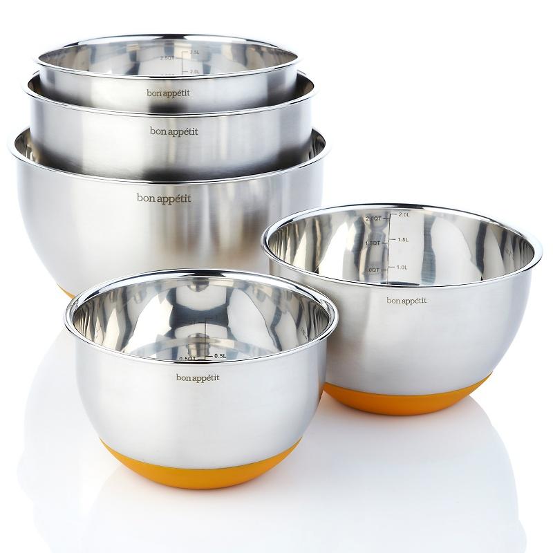stainless steel mixing bowl set images. Black Bedroom Furniture Sets. Home Design Ideas