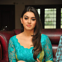 Fair and lovely Hansika motwani looking hot in blue short dress long legs