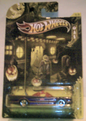 Hot Wheels Halloween Batmobile