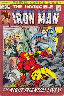 Iron Man #44, Gil Kane