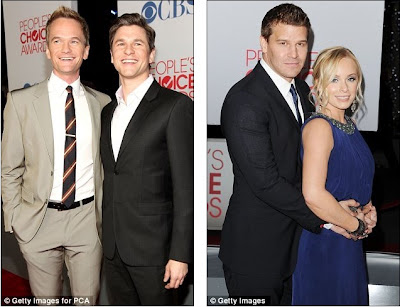 Happy Couples: Actors Neil Patrick Harris And David Burtka And David