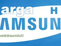 Harga HP Samsung Galaxy Android Terbaru 2015