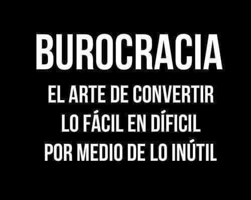 """DEFINICIÓN RESUMIDA DE """"BUROCRACIA"""""""