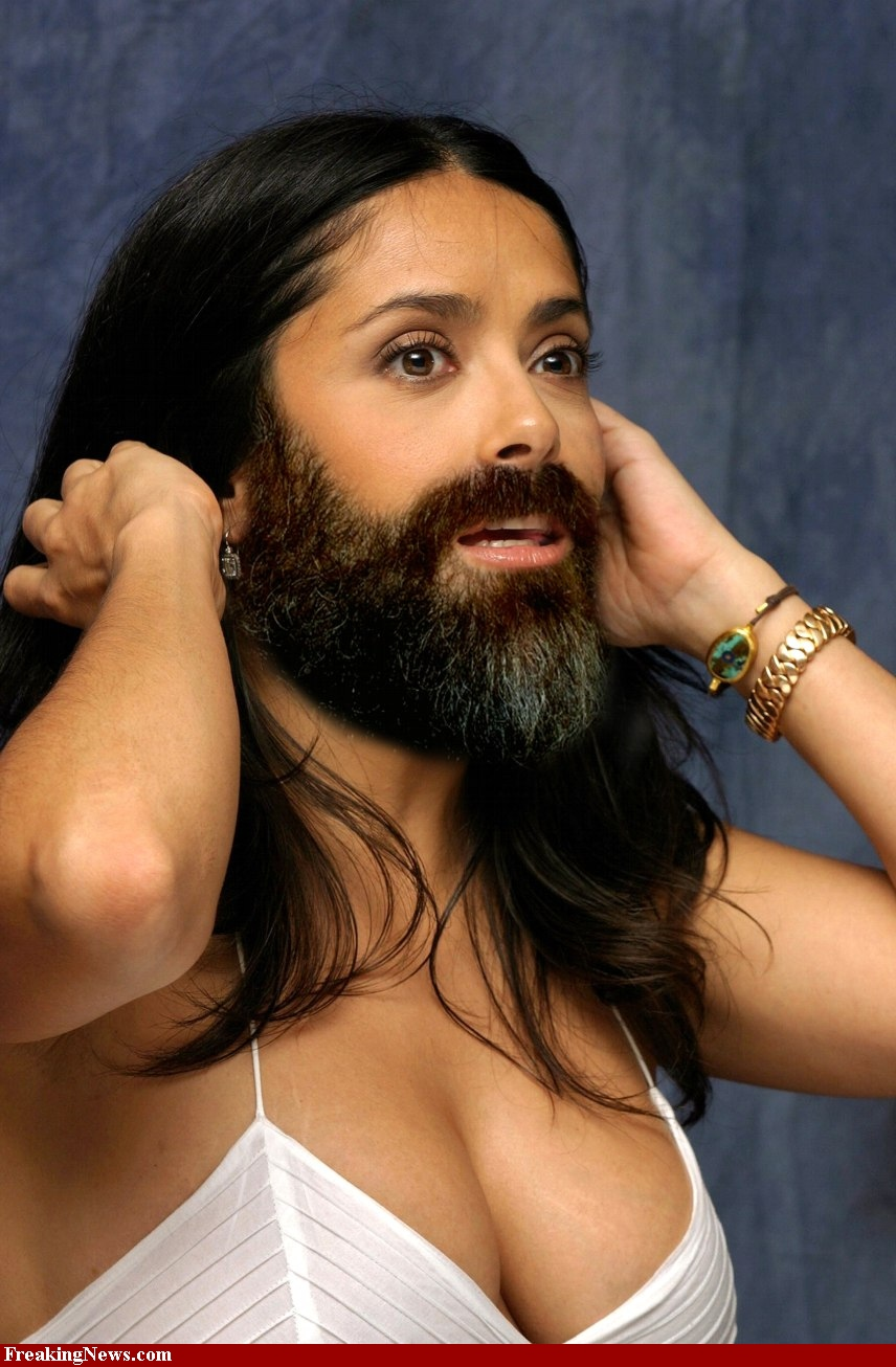 bearded woman
