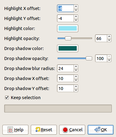 The Xach Effect Filter Adds A Translucent 3D To Selection Or Alpha Channel We Created Rectangular In Image