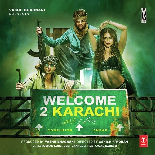 Welcome 2 Karachi (2015) Movie Poster No. 2