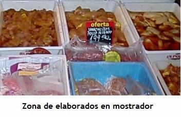 Mostrador de elaborados de carnicería