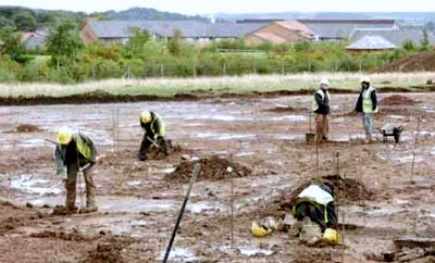 Human remains, artefacts hint at ancient Romano-British settlement