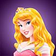 Invitacion de Cumpleaños de Aurora Bella Durmiente Princesas Disney