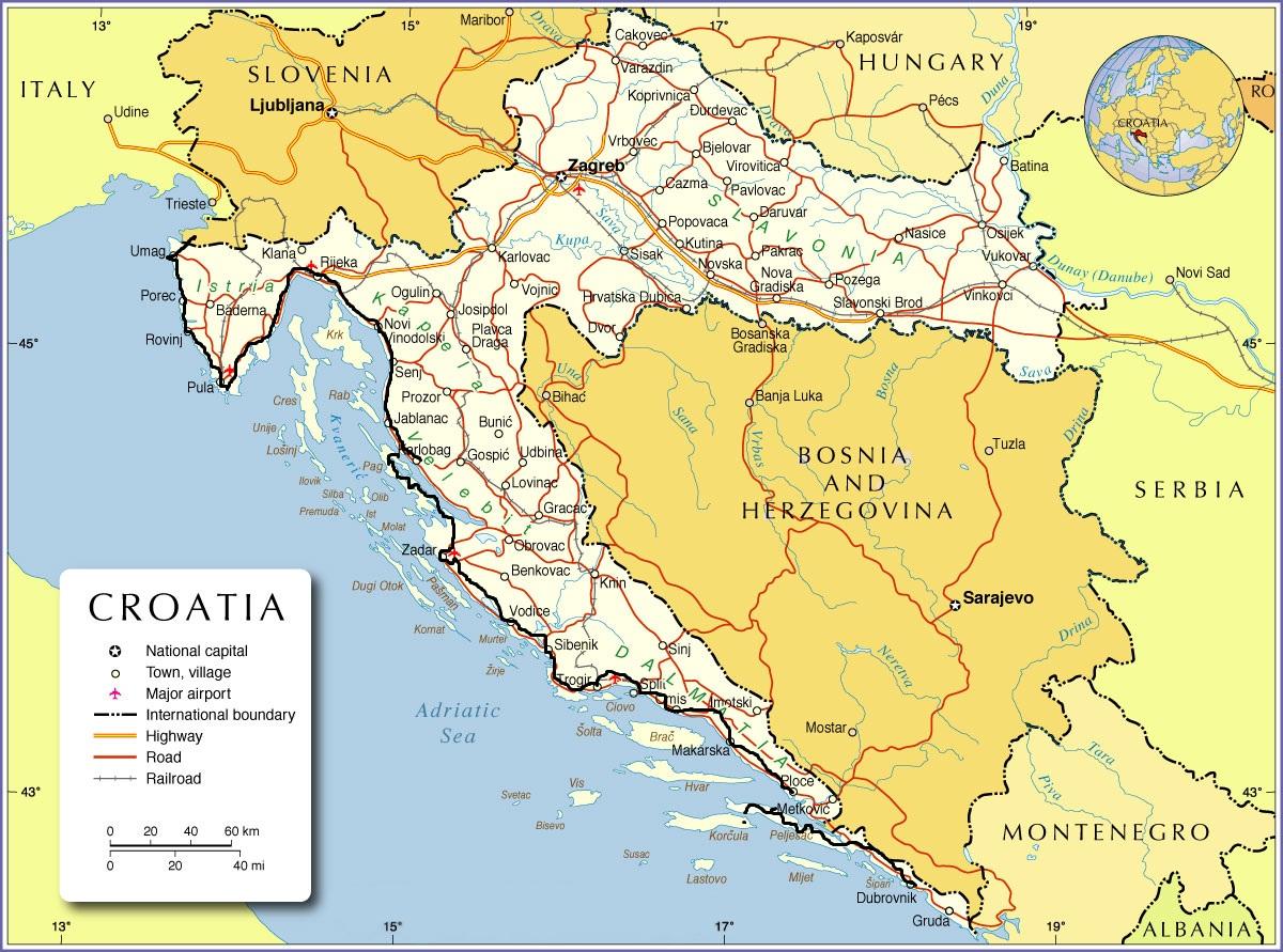Aller et retour: La croatie