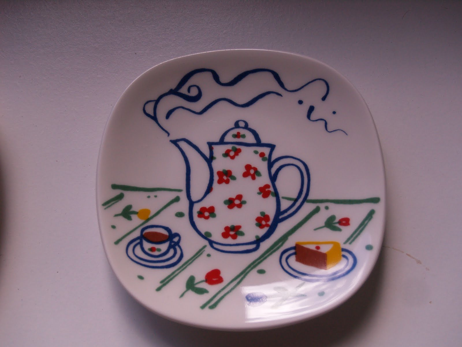 Cumulus plate by Heikki Orvola Arabia collectors. Finland. & Autumn: Why do many Finns collect old Arabia factory´s coffee sets ...