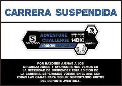 Salomon Adventure Challenge Piriápolis (14/dic/2014)