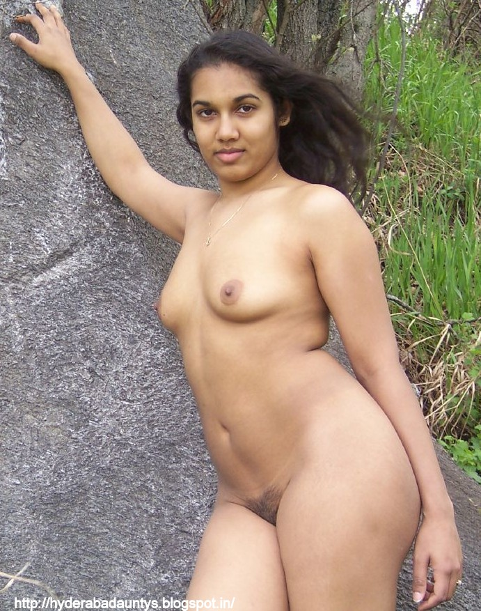 Nude black female buttocks