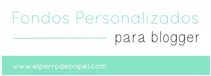 Nuevos fondos personalizados para el blog
