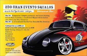 Squalos Veracruz agosto 25 y 26