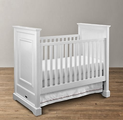 Restoration Hardware Baby and Child Marlowe Panel Crib