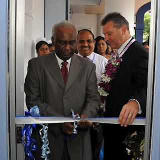 Jayantha Dharmadasa opens SLT medical Centre