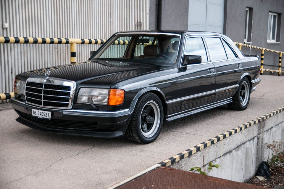 1985 mercedes benz w126 500sel amg benztuning for 1985 mercedes benz 300sd