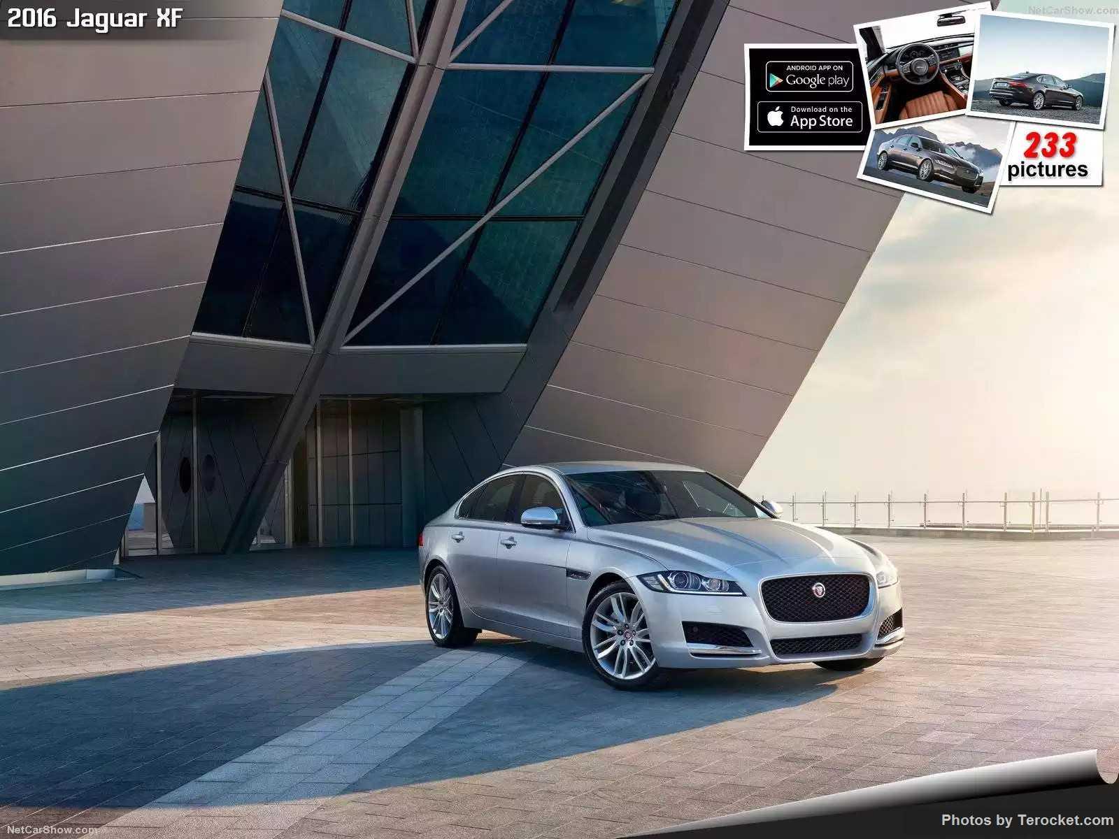 Hình ảnh xe ô tô Jaguar XF 2016 & nội ngoại thất