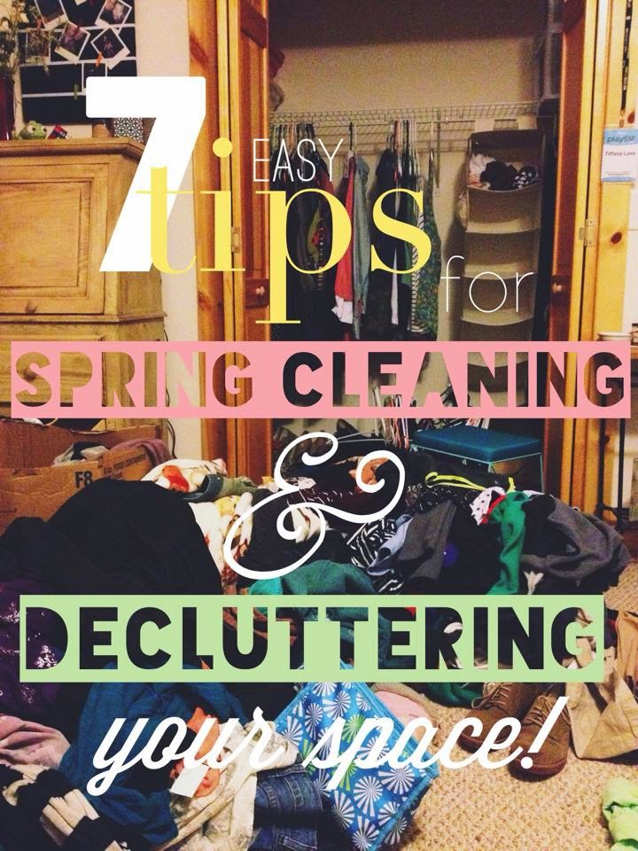 7 easy tips for spring cleaning and decluttering your space, spring, cleaning, clean, cleanliness, organize, messy, closet, diy, tips, college, declutter, easy, spring, fashion, beauty, blogger,